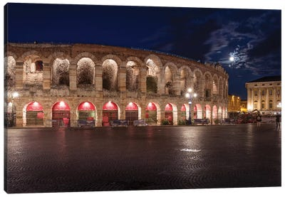 Arena Di Verona Canvas Art Print