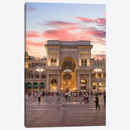 Galleria, Milan 3-Piece Canvas #AGN50} by Andrea Dall'Agnola Canvas Art Print