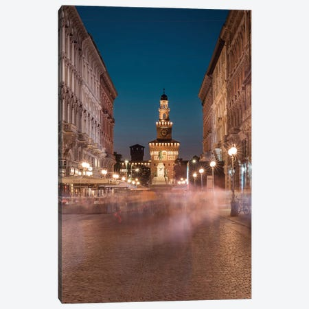 Milan Moving Canvas Print #AGN52} by Andrea Dall'Agnola Art Print