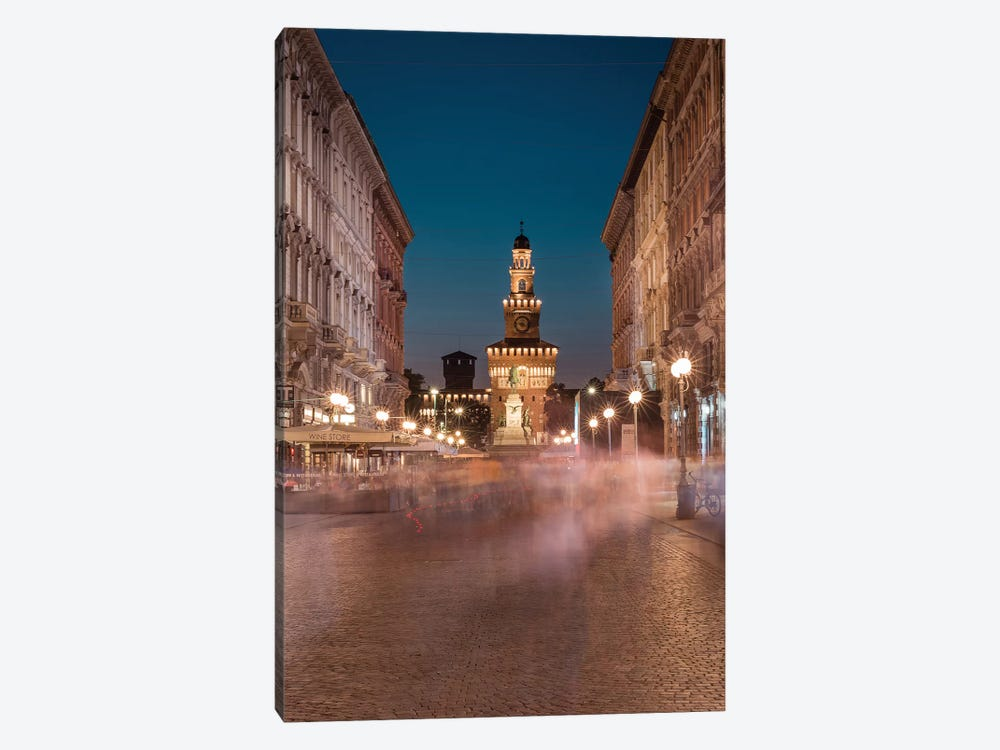 Milan Moving by Andrea Dall'Agnola 1-piece Canvas Art