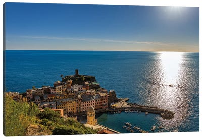 Vernazza Canvas Art Print