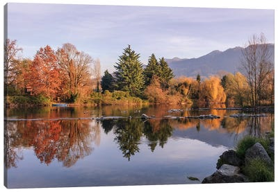 Autumn Reflections Canvas Art Print