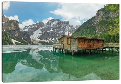 Beautiful Braies Canvas Art Print