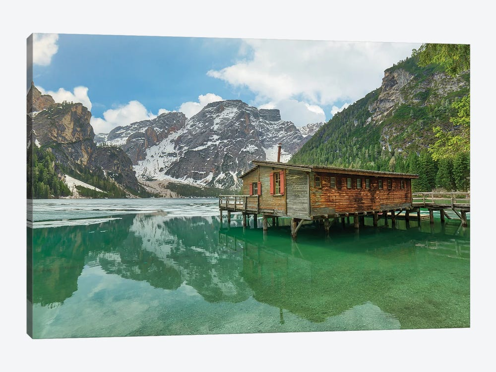 Beautiful Braies by Andrea Dall'Agnola 1-piece Canvas Art Print