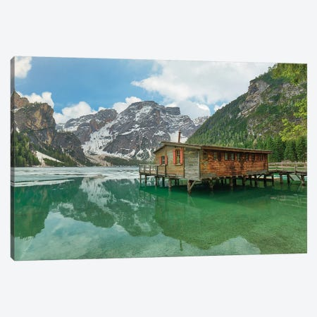 Beautiful Braies 3-Piece Canvas #AGN7} by Andrea Dall'Agnola Canvas Art