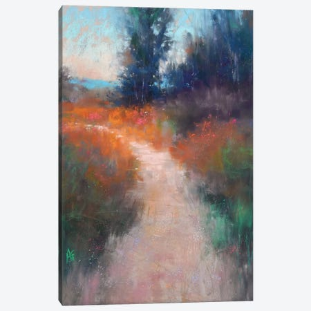Behind The Trees Canvas Print #AGO2} by Alejandra Gos Canvas Wall Art
