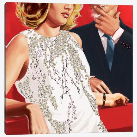 In The Mood For Love Canvas Print #AGR12} by Alexander Grahovsky Canvas Art Print
