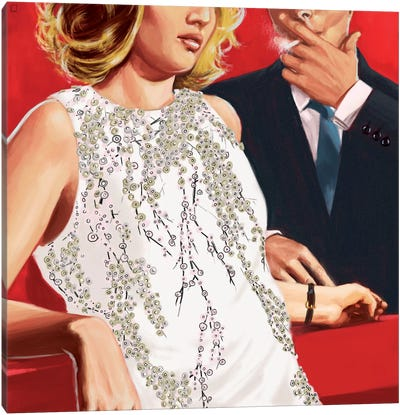 In The Mood For Love Canvas Print #AGR12
