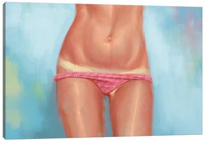 Tan Lines Canvas Art Print