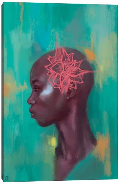 Amaryllis Canvas Art Print