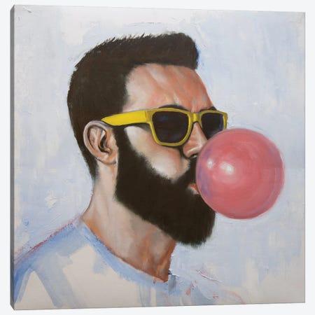 Been Caught Stealing Canvas Print #AGR22} by Alexander Grahovsky Canvas Artwork