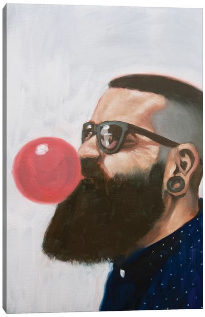 The Barbers Crew II Canvas Art Print