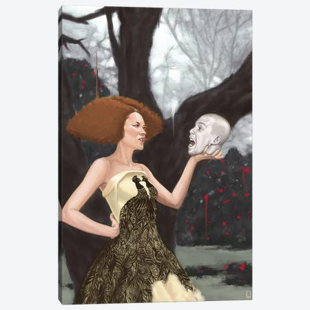 The Girl That Lived In The Tree Canvas Print #AGR48} by Alexander Grahovsky Canvas Wall Art