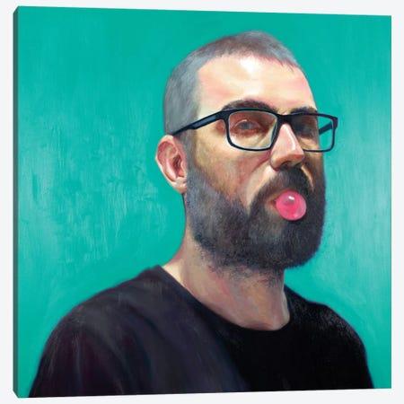 My Eyes Are Green Canvas Print #AGR64} by Alexander Grahovsky Art Print