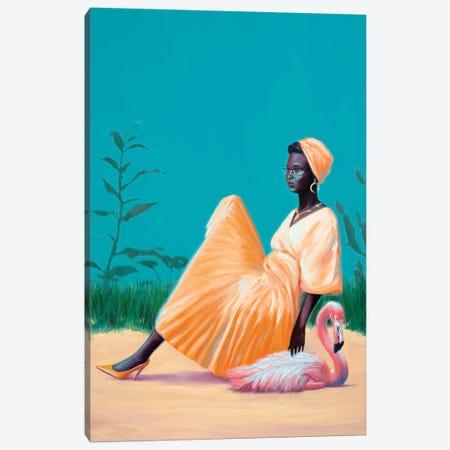 Back To The Plastic Garden Canvas Print #AGR67} by Alexander Grahovsky Canvas Art Print
