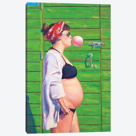 Pau At The Beach Canvas Print #AGR68} by Alexander Grahovsky Canvas Art