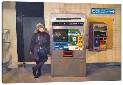 NY M23 Westbound Canvas Art Print