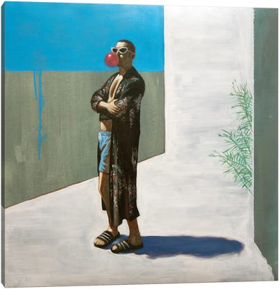 Decadent Young Man Canvas Art Print