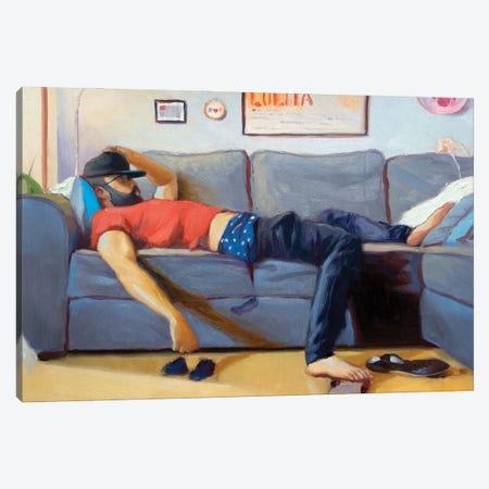 Thinkin' About You Canvas Print #AGR78} by Alexander Grahovsky Art Print
