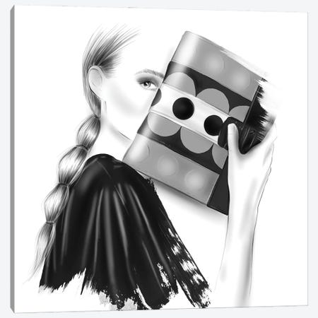 Glam Canvas Print #AGS15} by Agata Sadrak Canvas Art Print