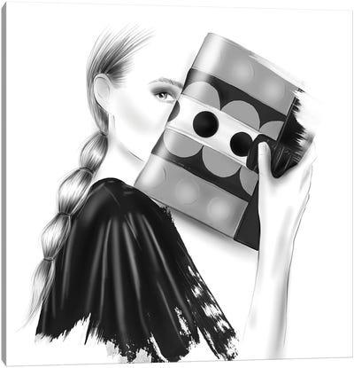 Glam Canvas Art Print