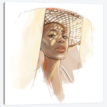 Summer Canvas Print #AGS20} by Agata Sadrak Canvas Print