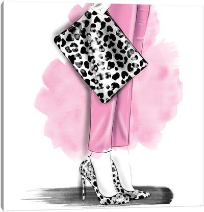 Leopard Set Canvas Art Print