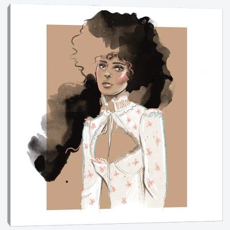 Vintage Portrait Canvas Print #AGS24} by Agata Sadrak Canvas Art