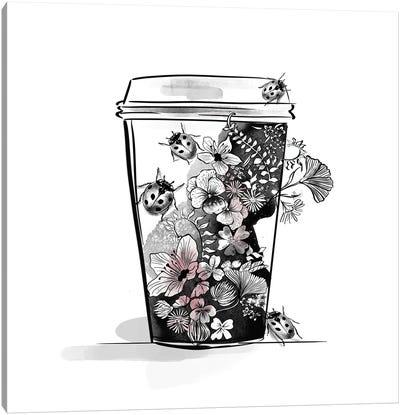 Flower Cup Canvas Art Print