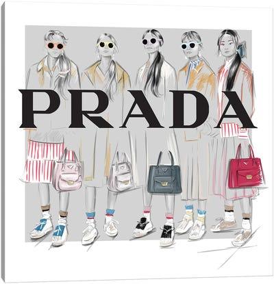 Prada Canvas Art Print