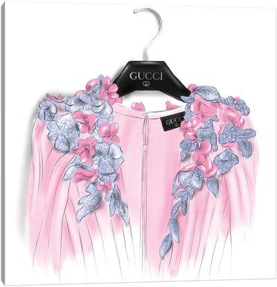 Gucci Dress Canvas Art Print