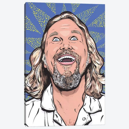 Big Lebowski Canvas Print #AGU100} by Allyson Gutchell Canvas Wall Art