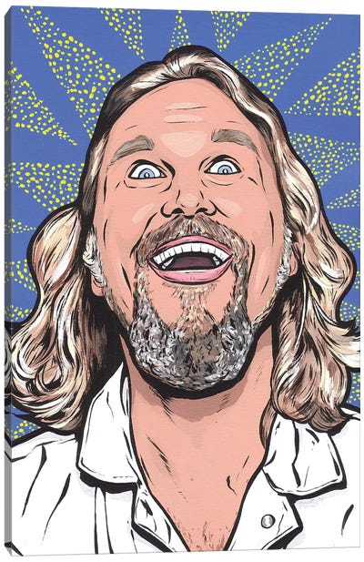 Big Lebowski Canvas Art Print