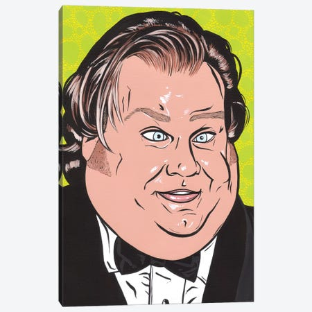 Chris Farley Canvas Print #AGU116} by Allyson Gutchell Canvas Artwork