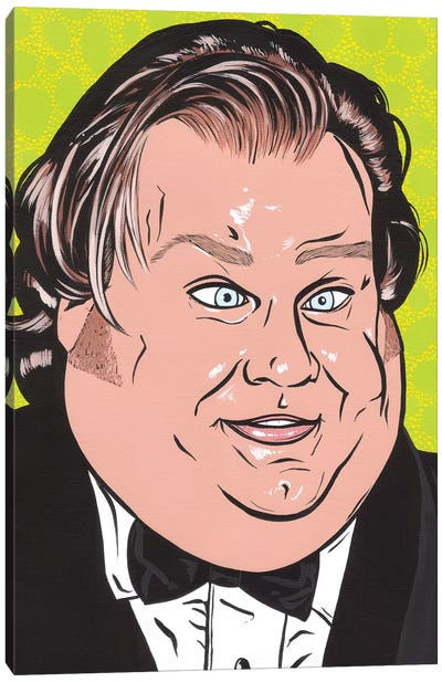 Chris Farley Canvas Art Print