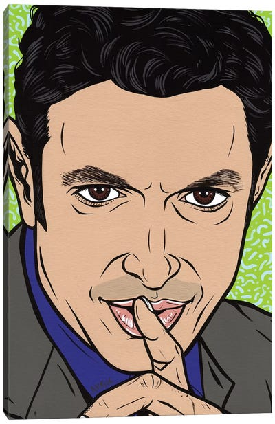 Jeff Goldblum Canvas Art Print