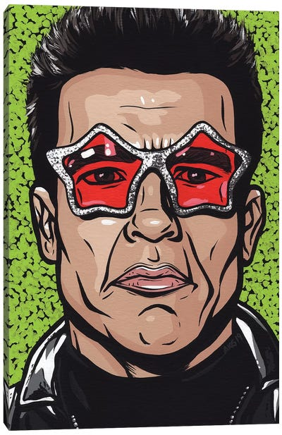 Terminator Glasses Canvas Art Print