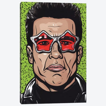 Terminator Glasses Canvas Print #AGU133} by Allyson Gutchell Canvas Art Print