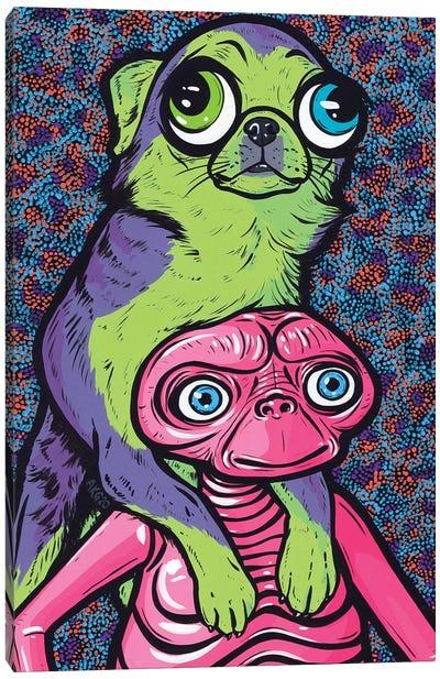 Chihuahua Friends Canvas Art Print