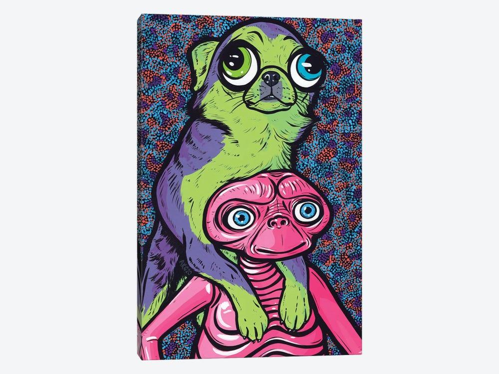 Chihuahua Friends by Allyson Gutchell 1-piece Canvas Wall Art