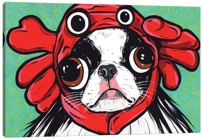 Japanese Chin Crab Canvas Art Print