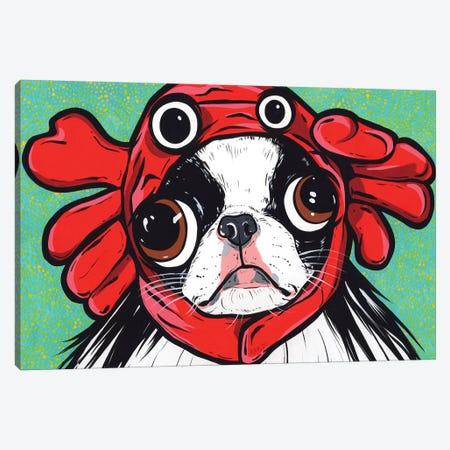 Japanese Chin Crab Canvas Print #AGU153} by Allyson Gutchell Canvas Print