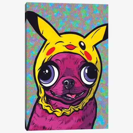 Purple Chihuahua Canvas Print #AGU155} by Allyson Gutchell Canvas Art