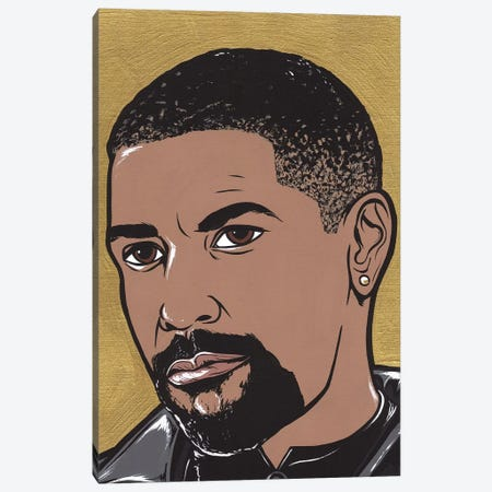 Denzel Canvas Print #AGU20} by Allyson Gutchell Canvas Print