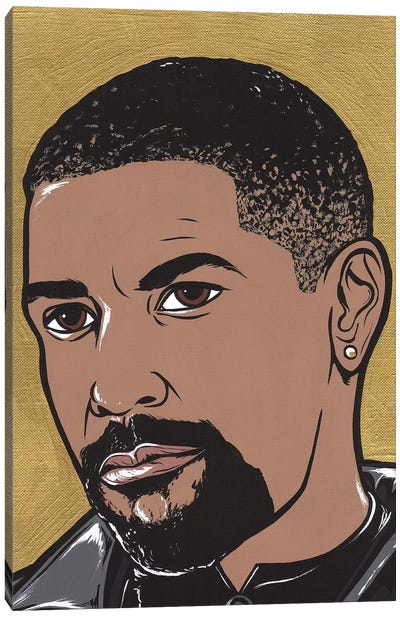 Denzel Canvas Art Print