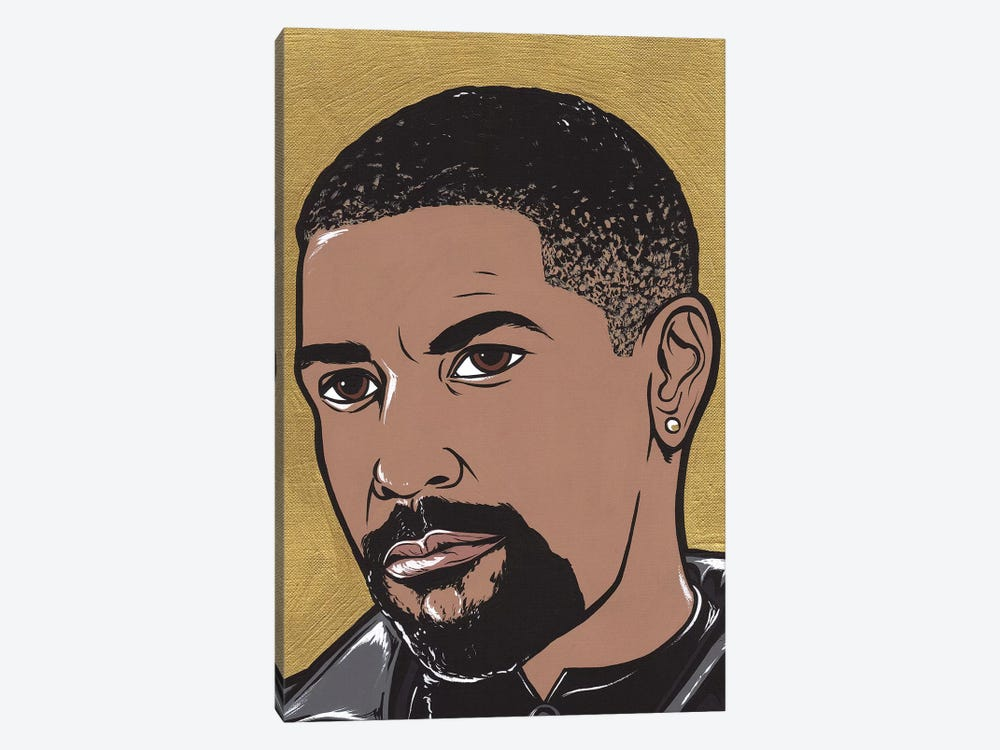 Denzel by Allyson Gutchell 1-piece Canvas Print