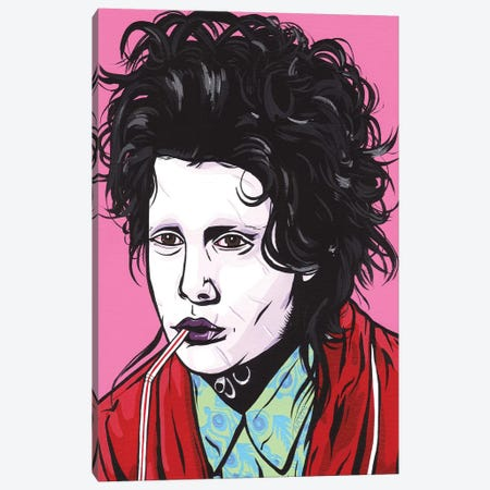 Edward Scissorhands Canvas Print #AGU22} by Allyson Gutchell Art Print