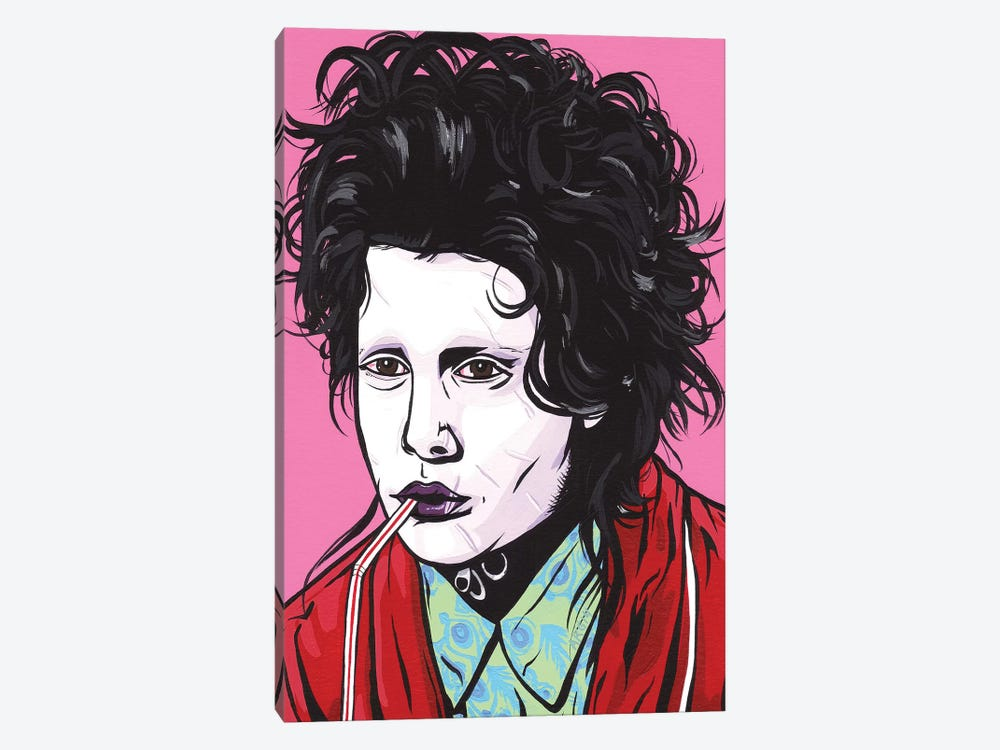 Edward Scissorhands by Allyson Gutchell 1-piece Canvas Print