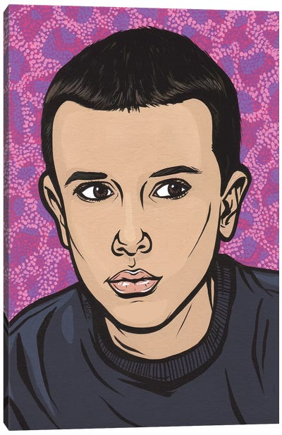Eleven Canvas Art Print