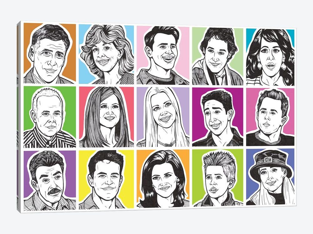 Friends by Allyson Gutchell 1-piece Canvas Art